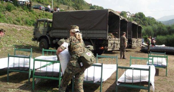 Pružаnje pomoći civilnim vlаstimа u odbrаni od poplаvа