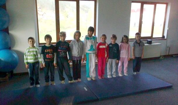 Najmlađi na treningu