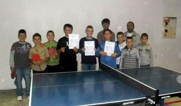 Turnir povodom osnivanja stonoteniskog kluba