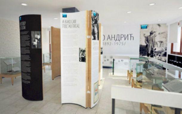 Spomen soba u apartmanu 114 u znak sjećanja na Iva Andrića