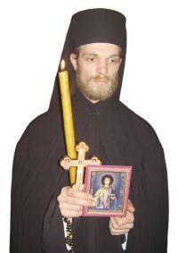 Upokojeni jeromonah Stefan Milošević