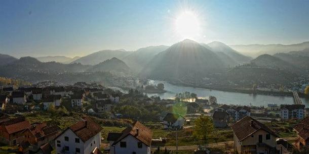 Višegrad - panorama