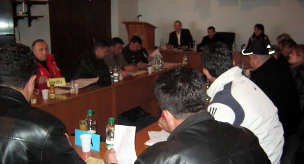 Sjednici Skupštine opštine Čajniče