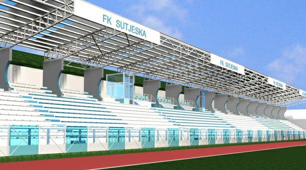 FK Sutjeska - tribine