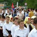 Defile folklorista Višegradom