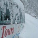 Lavina zatrpala snijeg u Foči