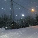Novo Goražde pod snijegom