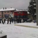 Rudo pod snijegom