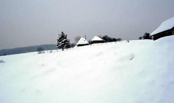 Zavejana sela u Rogatici