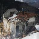 Od snijega skoro srušena kuća Milenka Perišića