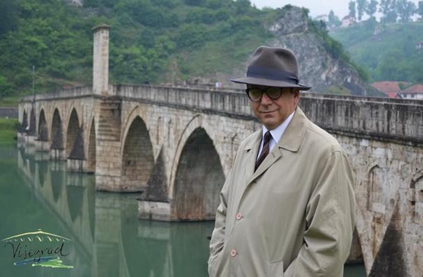 Ivo Andrić kod ćuprije
