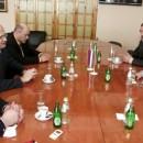Ministar Petar Djokić u Višegradu