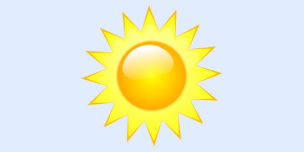 Vrijeme - Sunce