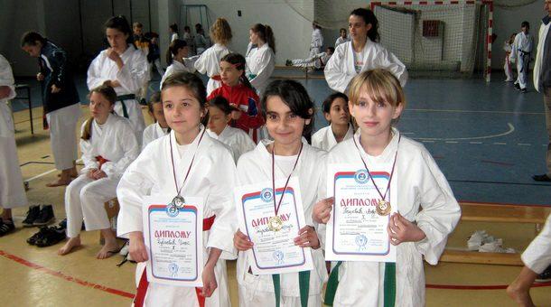 Mladi karatisti iz Rogatice