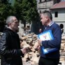 Branislav Mitrović i Mile Lakić u Andrićgradu