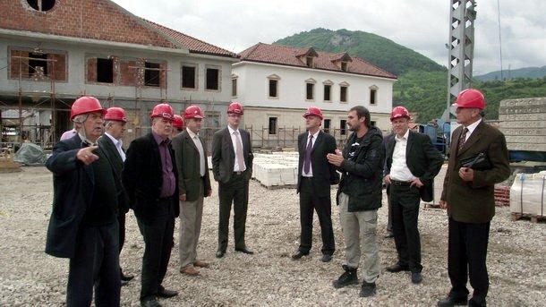Lokacija buduće zgrade HE na Drini