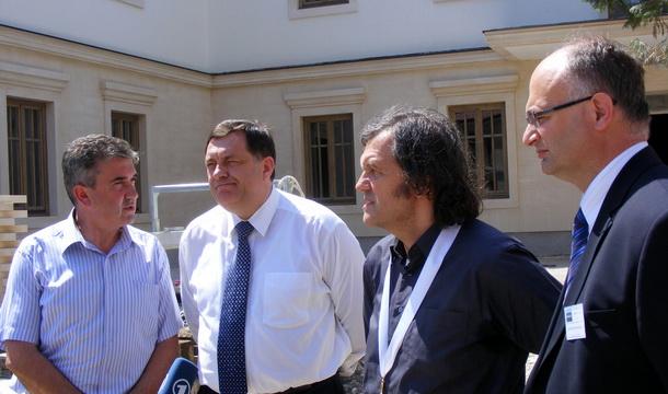 Lakić, Dodik, Kusturica i Popović