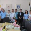 Najbolji učenici i studenti kod načelnika opštine Foča