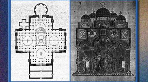 Osveštanje novoizgrađenog hrama u Obrtićima