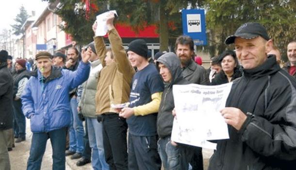 Nezadovoljni radnici u Rudom
