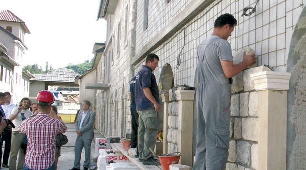 Radovi u Andrićgradu