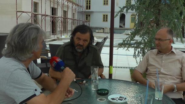 Emir Kusturica i Tomislav Popović
