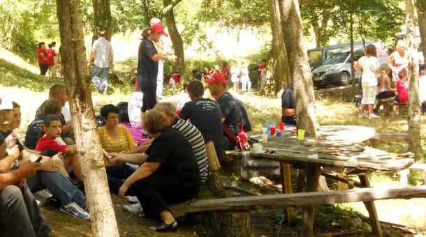 Interkulturalni kamp Strgačina - Rudo 2012