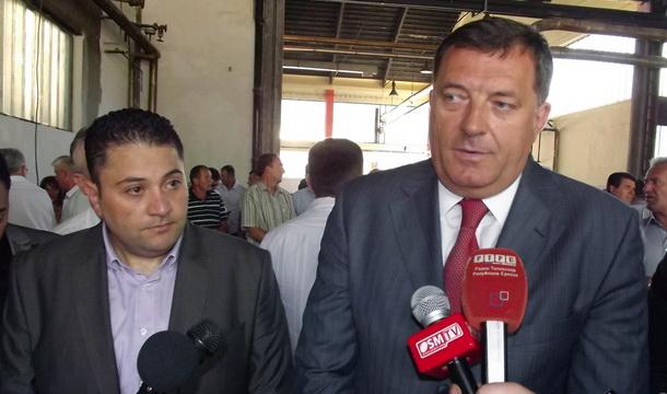 Milorad Dodik i Muhamed Fekri