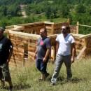 Žan Marjanović i Radomir Stojić posjetili gradilište crkve