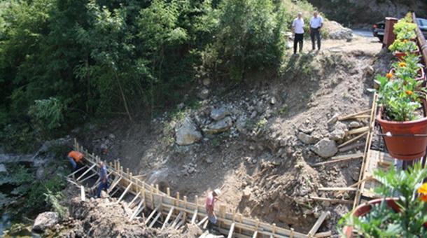 Viseći most u Dobrunu