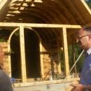 Tomislav Popović obišao crkvu brvnaru u selu Bijela