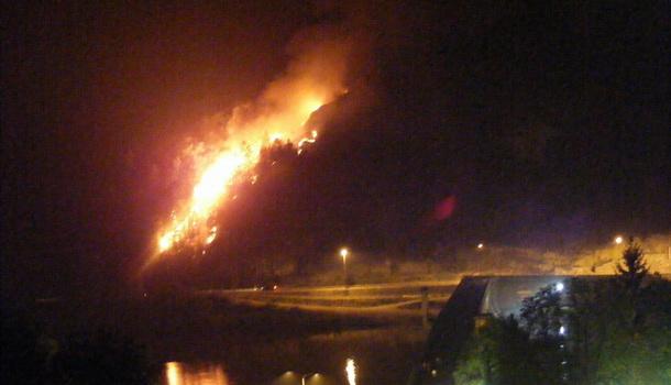 Gori vatra kod Ćuprije