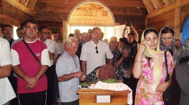 """Sveta luiturgija u crkvi-brvnari """"Hrista spasitelja"""""""