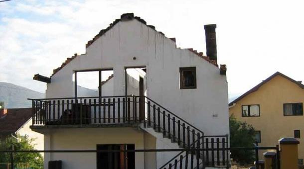 Izgorila kuća u Rogatici
