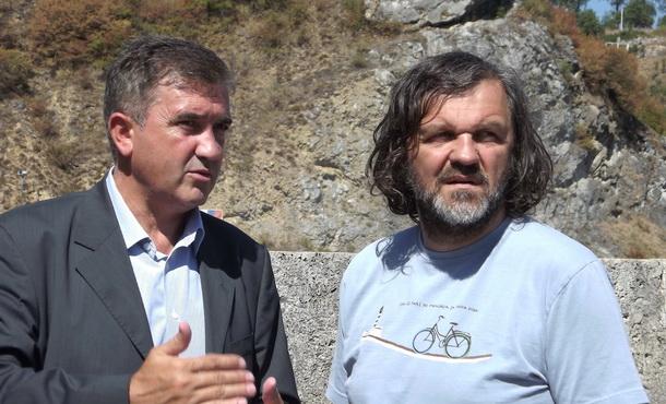Mile Lakić i Emir Kusturica