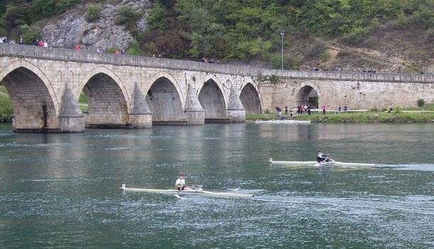 Prva veslačka regata u Višegradu