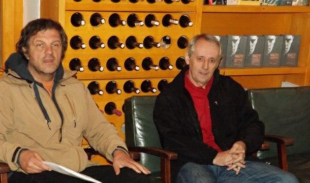 Emir Kusturica i Rajko Vasić