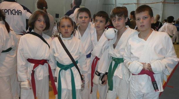Karate klub Drina - pioniri