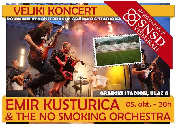 Koncert - Emir Kusturica i No smoking orkestra