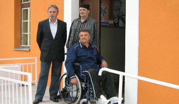 Zoran Trifunović sa novim kolicima