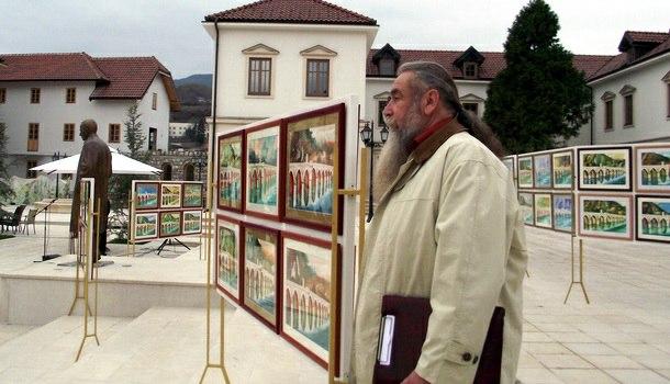 Hadži Branko Nikitović u Andrićgradu