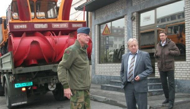 Harald Hiorth u Čajniču
