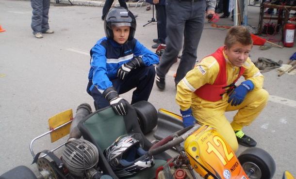 Nikola Galović - karting