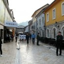 Andrićgrad - ulica Mlade Bosne