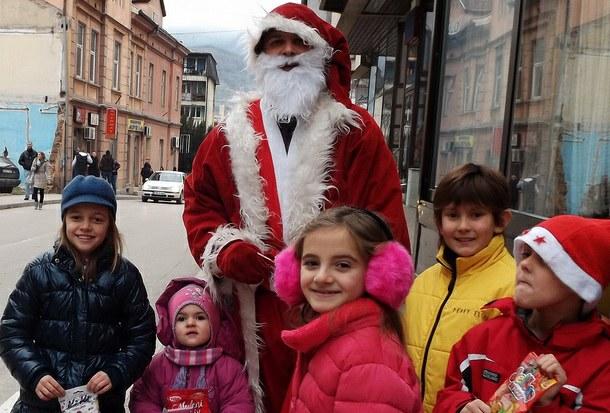 Deda Mraz u Višegradu