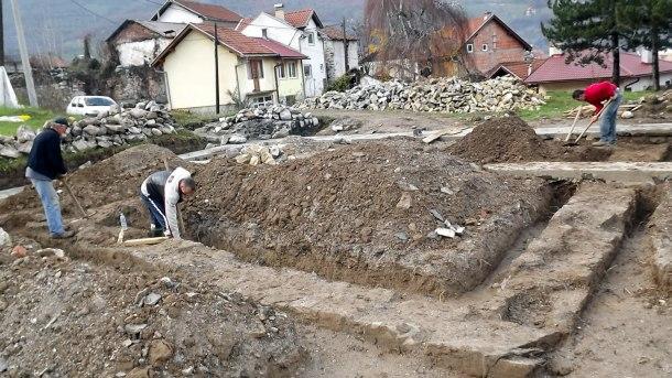 Iskopavanje Careve džamije
