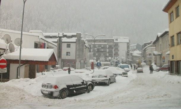 Snijeg u Čajniču
