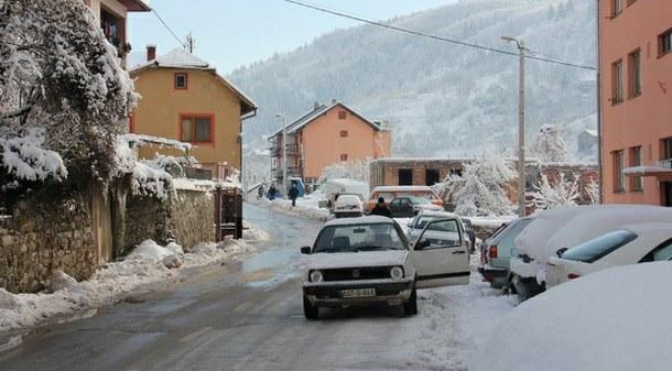 Snijeg u Foči