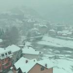 Višegrad pod snijegom