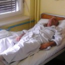 Vojo Ostojić u bolnici